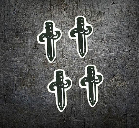 21 savage dagger tattoo minis set of 4 hip hop temporary tattoo gifts for teens cool gift for savage tattoo dagger tattoo tattoo set 21 savage dagger tattoo minis set of