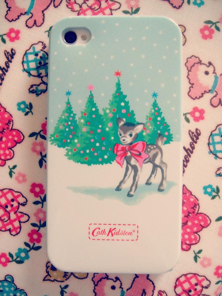 Cath Kidston Christmas Deer Iphone4 Case