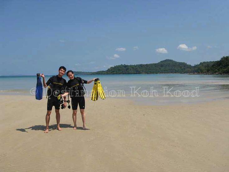 Happy customers @ Paradise Divers Koh Kood (Thailand)