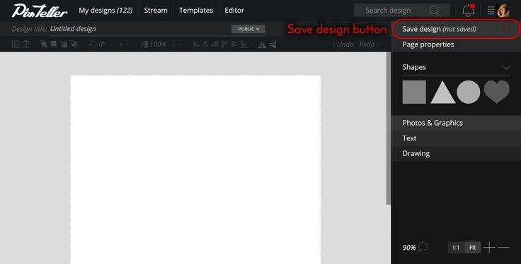 How to save your designs from the PixTeller Editor page. Find more →  https://pixteller.com/help/posts/pixteller-editor/how-to-save-my-design-38