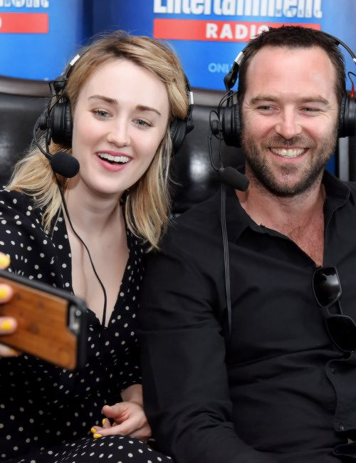 """ Ashley Johnson and Sullivan Stapleton attend SiriusXM's Entertainment Weekly Radio Channel Broadcasts From Comic-Con 2016 on July 22, 2016 in San Diego, California  """