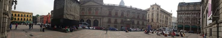 Plaza Tolsá in Mexico City where James Bond - Specter was filmed.