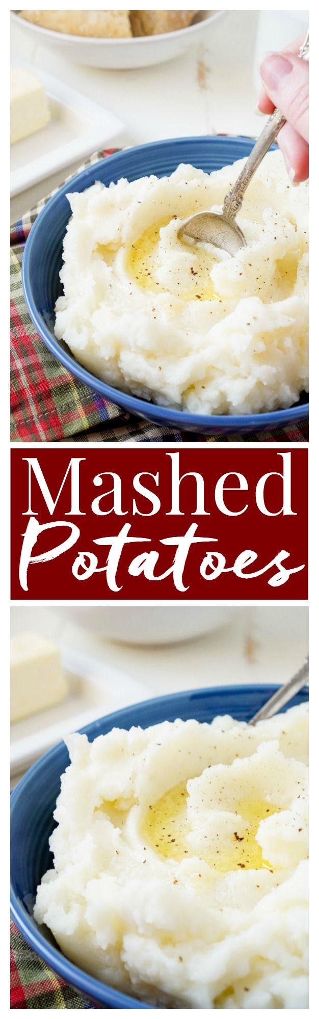 Best mashed potatoes, Mashed potatoes and Mashed potato recipes on ...