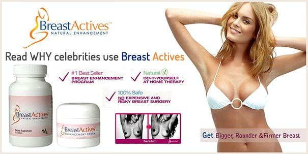 ​Breast Actives Reviews [Read It Before Buy Online]