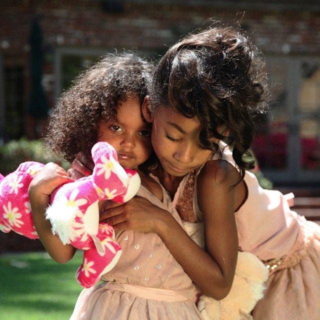 Mel B's daughters.