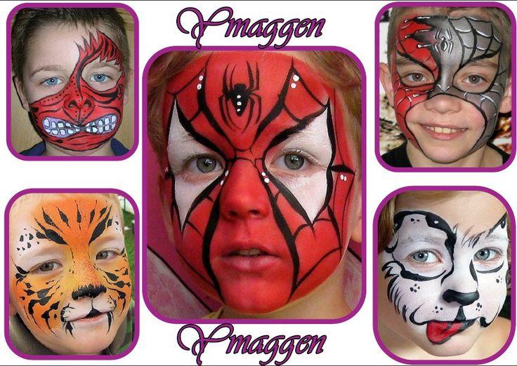 Caras pintadas de niño - Imagui