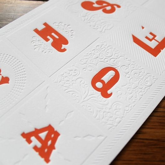 Beautiful letterforms, texture, and pop of color! HyperQuake 10th Anniversary Letterpress Poster - FPO: For Print Only