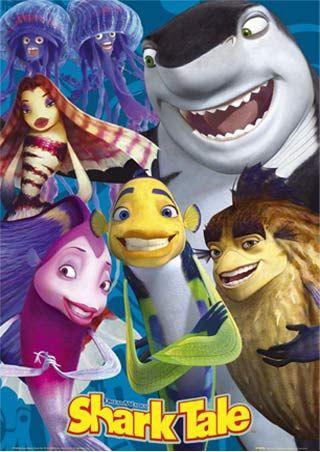 day 18: underrated dreamworks movie  ****sharktale <3