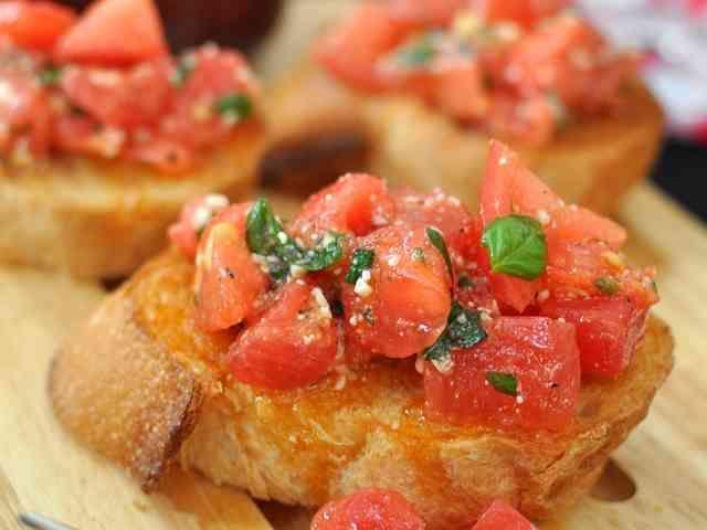 リストランテの⁂トマトのブルスケッタの画像