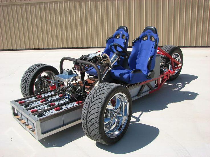 Builder of the ZW2C electric trike (shown) Gary Krysztopik is preparing to release the EZ-EV car...