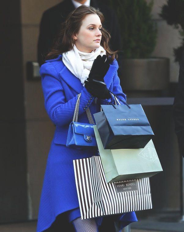 Blair Waldorf!!! O que não falta é estilo e bom gosto. Minha personagem favorita de tds as séries!! Amo