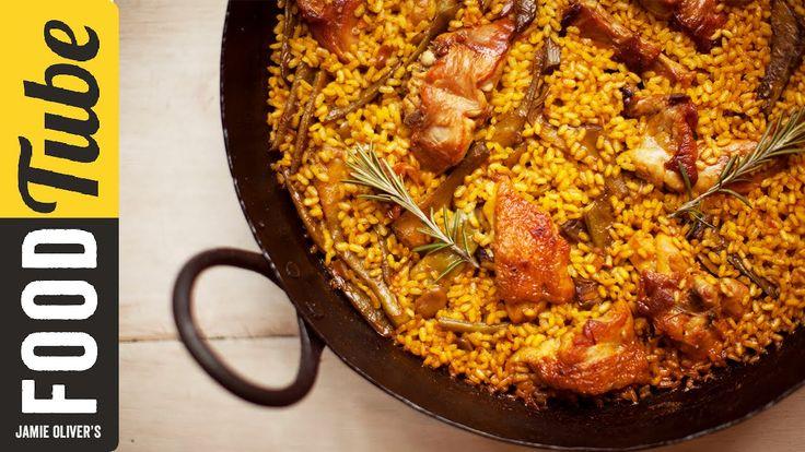 How To Make Spanish Paella   Omar Allibhoy : Jamie Oliver -  23 Apr 2015