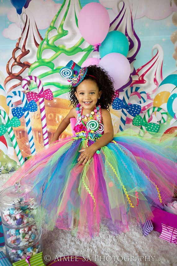 Pin By Allie On Babies  Birthday Dresses, Candy Party -6170