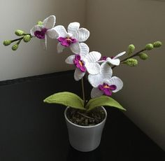 Orchid Flower by Lisa Lisa | Loremar (free pattern)