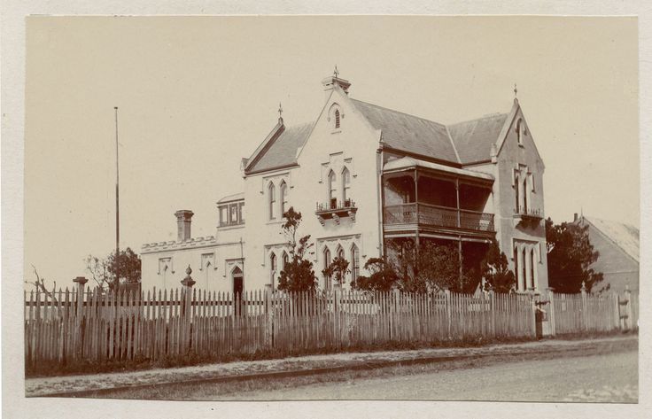 The Rectory, Stockton, NSW, Australia This image was scanned from a photograph from the Anglican Diocese of Newcastle - Churches and Rectories album - A5352c. Erected in c.1887.