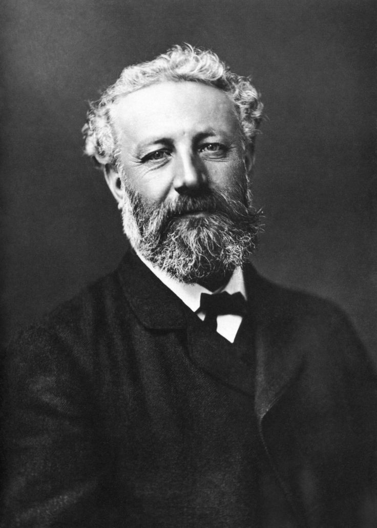 Jules Verne (1828 – 1905) was born in Nantes, France  and wrote Journey to the Center of the Earth, Twenty Thousand Leagues Under the Sea & Around the World in Eighty Days