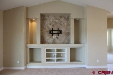 Need ideas for this new built in entertainment center - Houzz