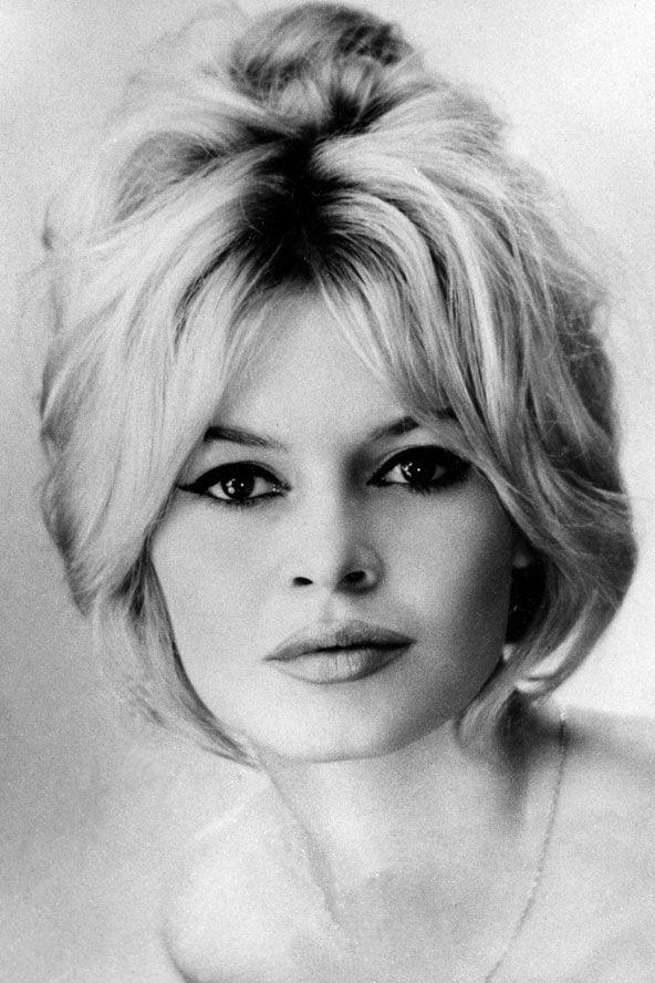 Bridgette Bardot - overdrawn lips and eyes | * Brigitte ...