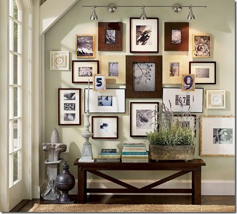 Pottery Barn - gallery wall 3