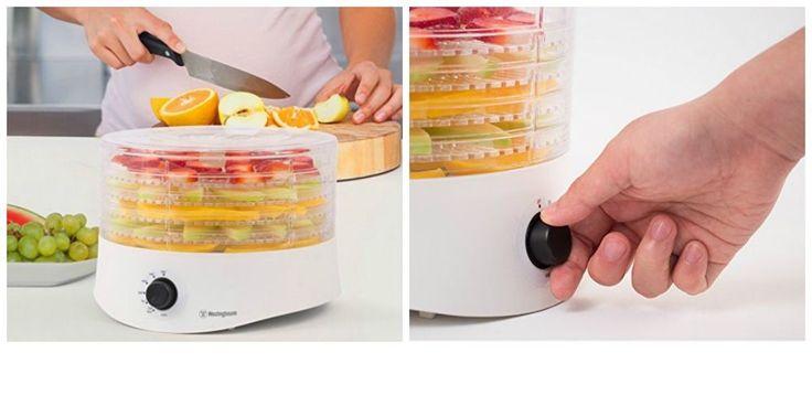 Electric Food Dehydrator Fruit Vegetable Dryer Machine Jerky Maker 5 Trays 280W #NewFoodDehydrators