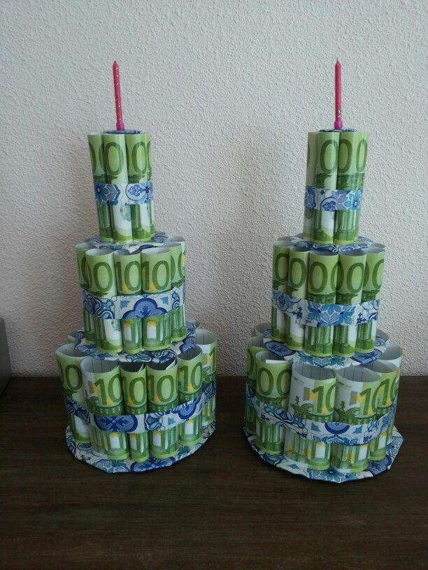 Geld taarten