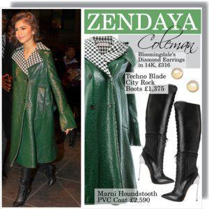 ZENDAYA COLEMAN in New York 12/11/2017