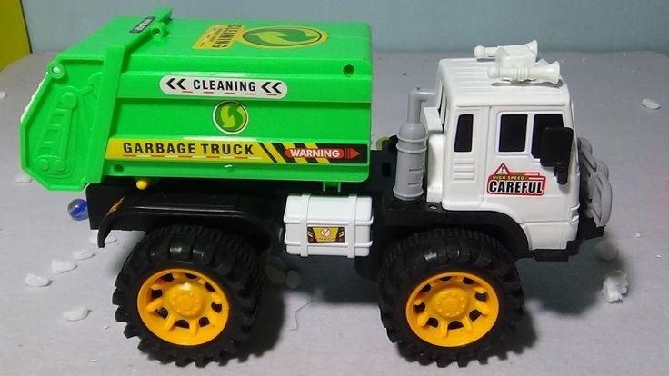 Camión de basura infantil en español ✓ CAMION DE BASURA juguete para niños