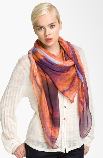 Tarnish 'River' Scarf available at #NordstromNordstrom, Rivers T-Shirt, Scarves, Scarf, Tarnished Rivers