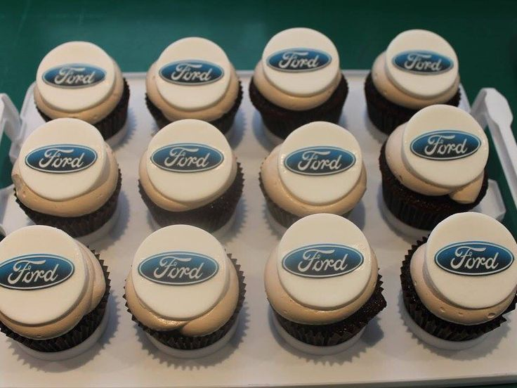 Ford cup cakes