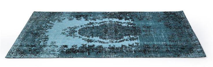 Kelim Pop Turquoise tapijt 240x170 - Kare Design