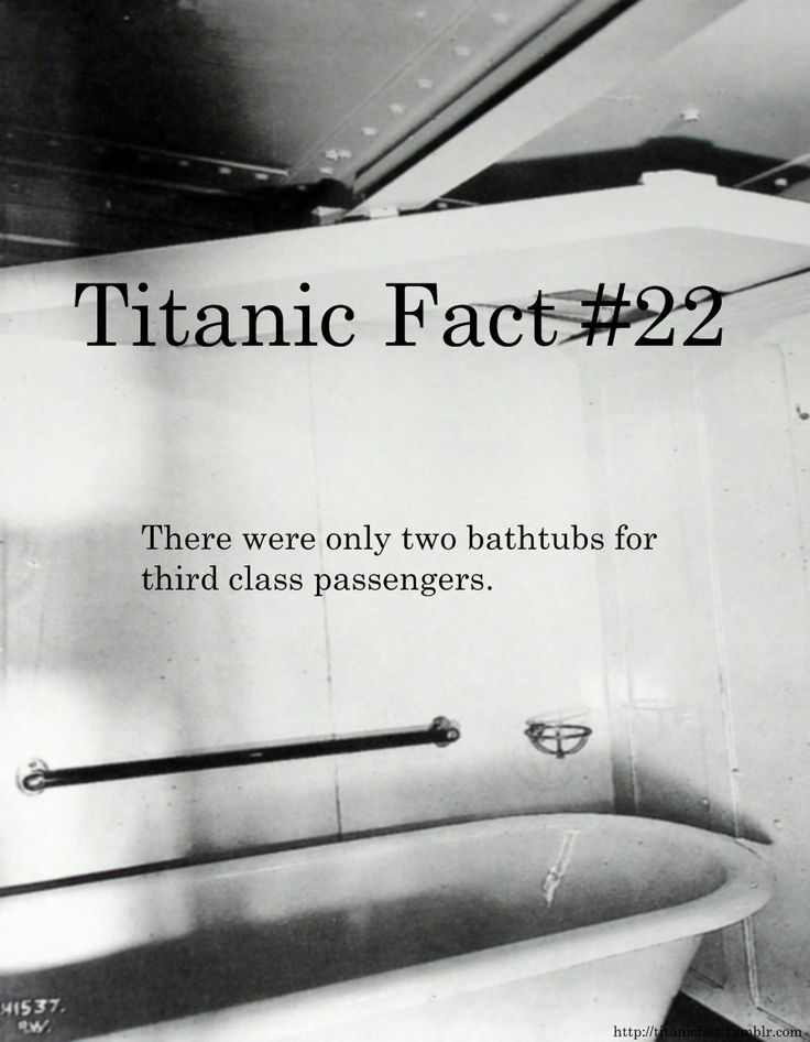 Titanic Fact #22
