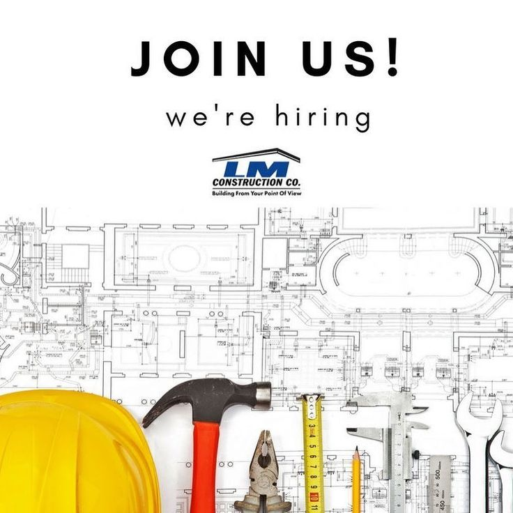 NOW HIRING!  Senior Estimator Super PM PA & more wanted for hire!  Send your resumes to HR@lmconstructionco.com for consideration.