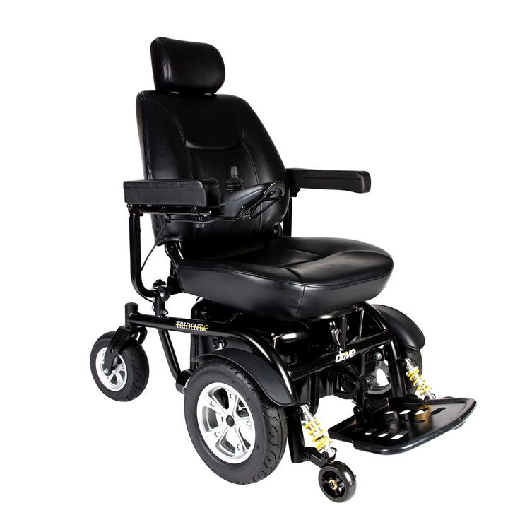 Image of Drive Medical Trident HD Heavy Duty Power Chair, 22inch Seat - 2850hd-22