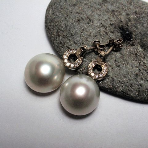 South Sea Pearl Earrings – Unio Goldsmith