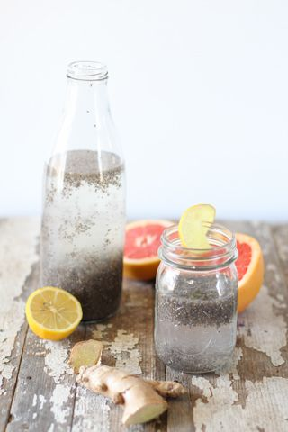 Bubble Water // healthy version of bubble tea via Nutrition Stripped #healthy #detox #hydrate