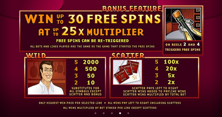 Up to 30 Free Spins can be yours to use, this increasing your chances at a win
