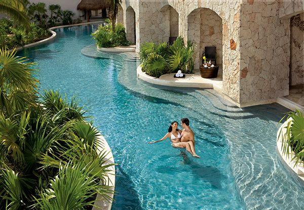 Private Swim-Out Suites…the ultimate Honeymooners dream come true #Secrets Maroma Beach http://secretsresorts.com [Partnered]