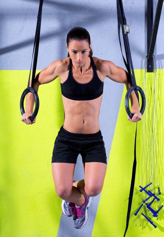 Muscle Ups Rings Tutorial