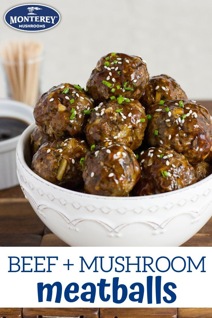 Let S Blend Meatball Recipe Asian Inspired Recipes In 2019