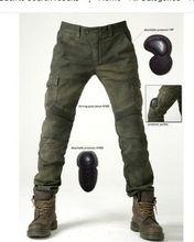Uglybros MOTORPOOL UBS06 ejército pantalones verdes pantalones vaqueros de la versión libre(China (Mainland))