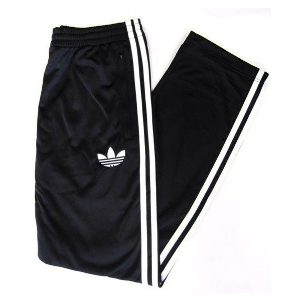 Adidas Firebird Track Pants (Bottoms) in Black/White ($59) ❤ liked on Polyvore featuring activewear, activewear pants, pants, bottoms, sweatpants, adidas, adidas activewear, track pants, sweat pants and adidas tracksuit
