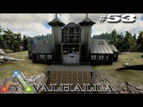 1000 images about ark idea 39 s on pinterest survival for Build a castle home