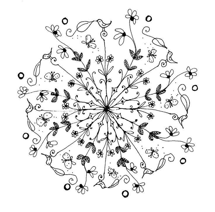 1000 images about a emb mandalas dot rangoli on pinterest mandala coloring coloring and. Black Bedroom Furniture Sets. Home Design Ideas