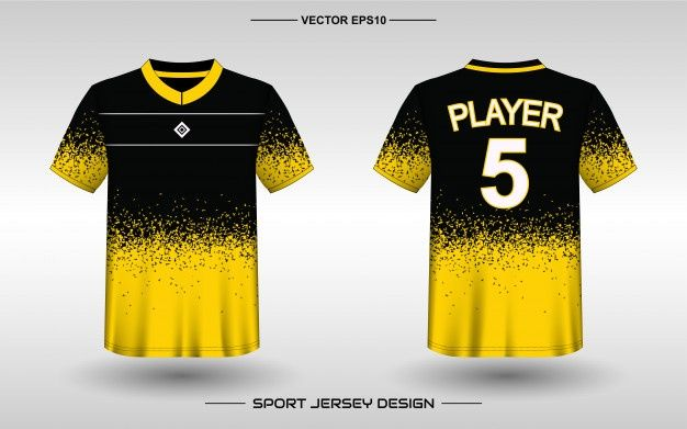 Sports Jersey Design Template For Team Uniforms In 2020 Jersey Design Sports Jersey Design Sports Tshirt Designs