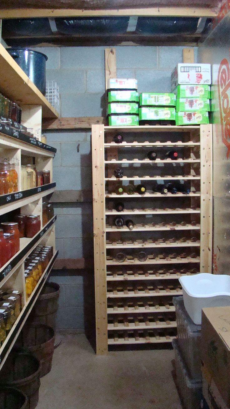 1000 images about root cellars on pinterest garage door for Garage wine cellar