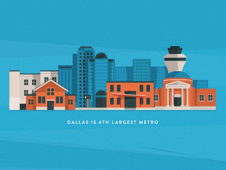 Yay Dallas #digitalillustration  #illustration