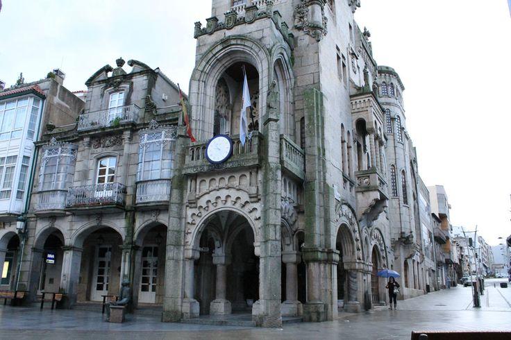 Casa Consistorial de O Porriño, Pontevedra, Camino Portugués