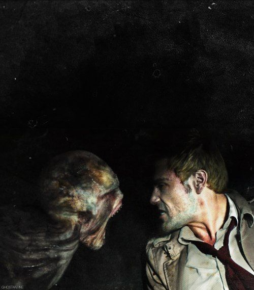 John Constantine. The man who stared demons in the eye. Not because he was holy. But because some poor sod had to.