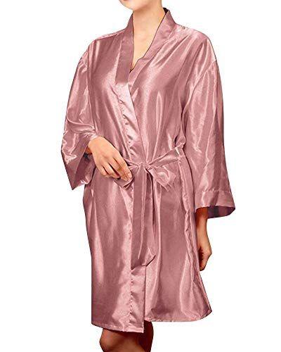 Huixin Damen Lange Ärmel Negligee Kimono Morgenmantel Elegant Lose Spitze Nacht…