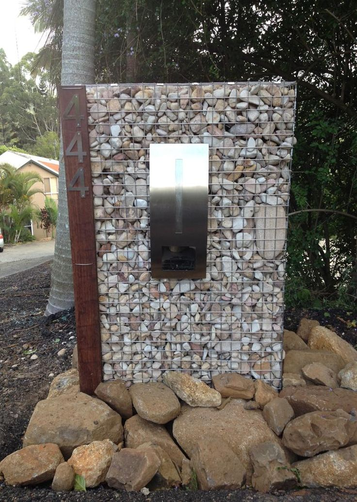 Modern Letterbox Ideas 88 Best Letterboxes Images On Pinterest  Modern Mailbox Mailbox